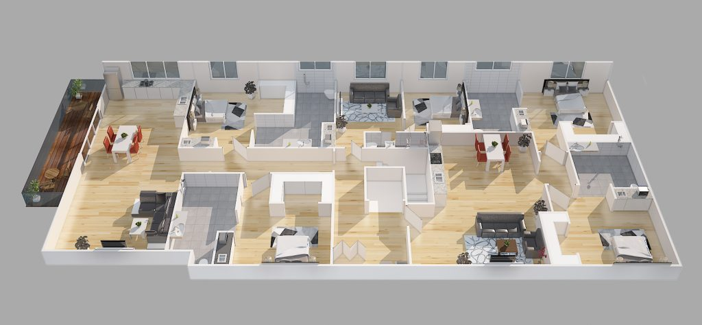 NDIS Property floorplan